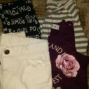 girls size 6 lot of 4